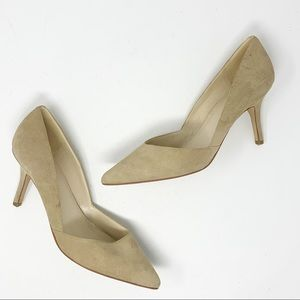 MARC FISHER | Suede Tuscany Pointed Heels Pumps